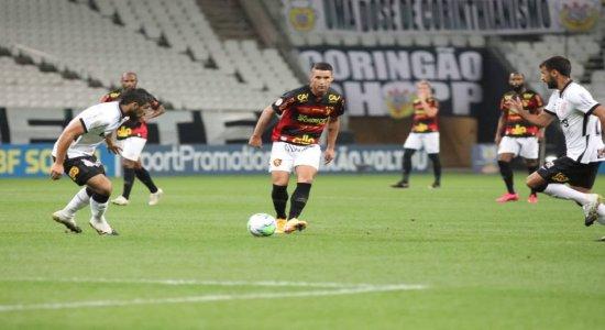 Sport não segura o Corinthians e perde a terceira seguida na Série A