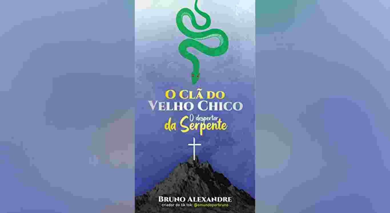 O livro é de autoria de Bruno Alexandre