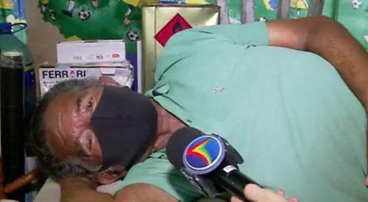 Comerciante dorme em cima de freezer para evitar assaltos em quiosque na orla de Boa Viagem