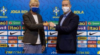 Rogério Caboclo anunciou a renovação do contrato da sueca Pia Sundhage até a Olimpíada de Paris (França)