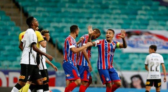 Bahia vence o Corinthians por 2x1, deixa o Z-4 e encosta no Sport