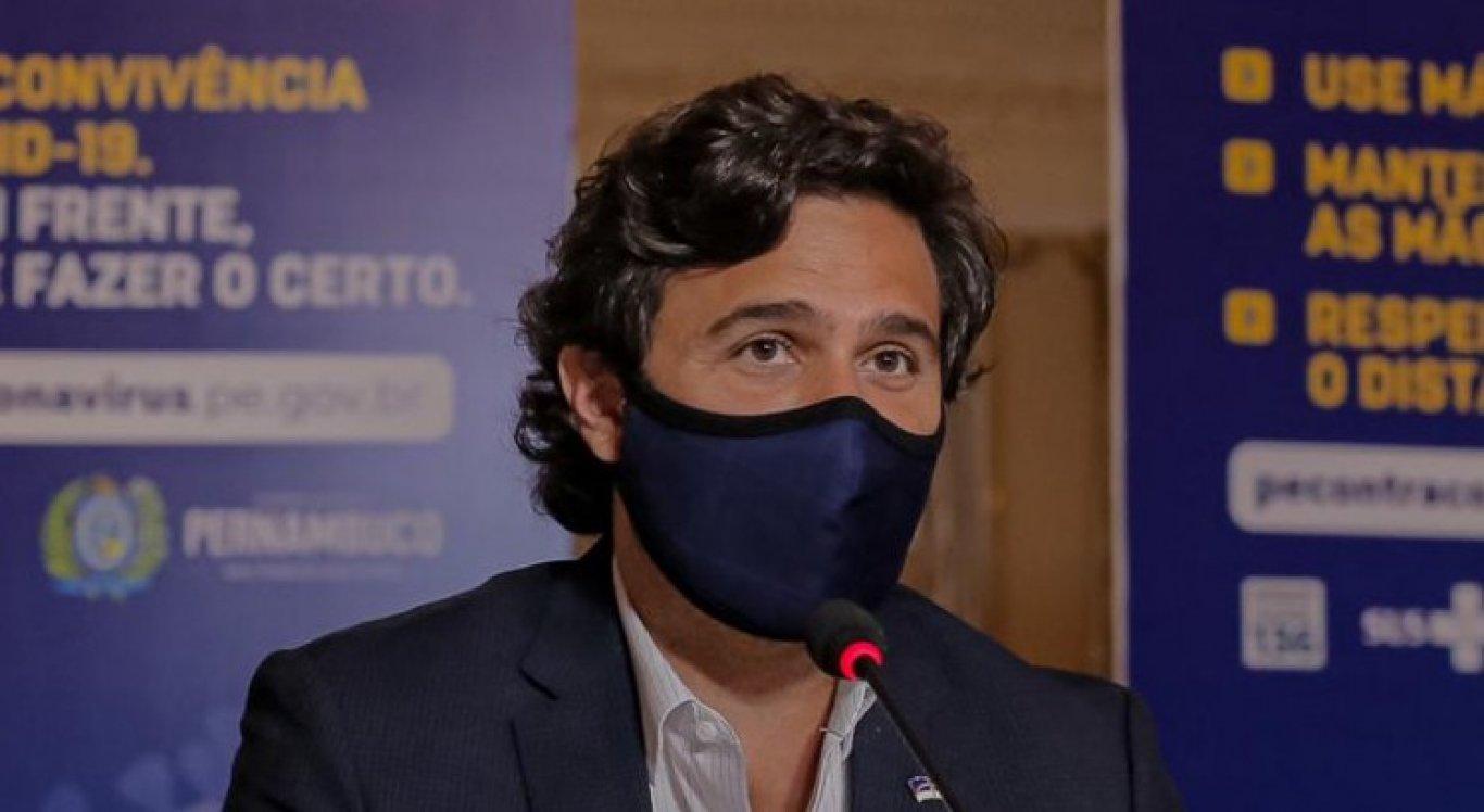 Rodrigo Novaes, secretário de Turismo e Lazer de Pernambuco, divulgou a decisão sobre a suspensão do Carnaval 2021
