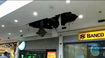 O incidente aconteceu em frente ao Banco do Brasil