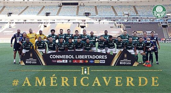 Palmeiras vence Santos e é bicampeão da Libertadores da América