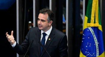 Pacheco foi escolhido por Davi Alcolumbre (DEM-AP) para sucedê-lo na presidência.