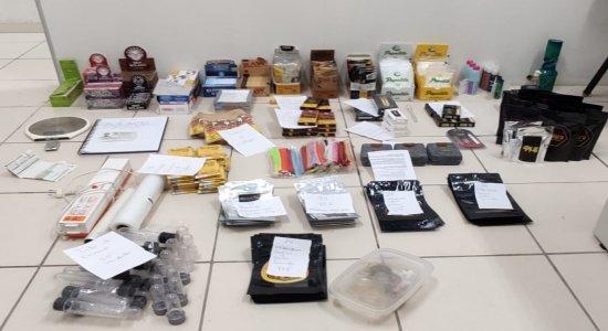 Homem é preso com mais de R$ 1,3 milhão em drogas na Zona Sul do Recife