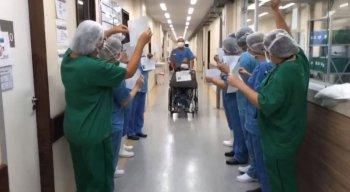 Com isso, sobe para seis o total de pacientes amazonenses que venceram a covid-19, no HC.
