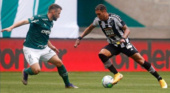 Próximo adversário do Sport, Botafogo surpreende e empata com o Palmeiras