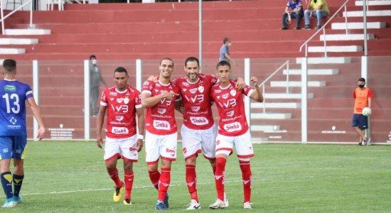 Após ser campeão da Série C, Vila Nova vence o Palmas, avança às quartas e vai em busca do título da Copa Verde
