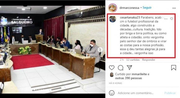 Salgueiro diz que não vai disputar a Copa do Brasil e a Copa do Nordeste 2021