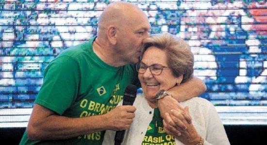 Mãe do empresário Luciano Hang morre, aos 82 anos, após ter covid-19