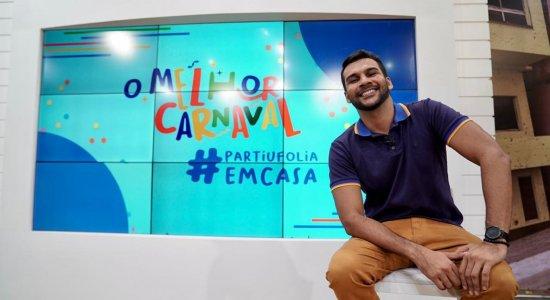"""AO VIVO: Acompanhe """"O Melhor Carnaval - Partiu Folia em Casa"""" na TV Jornal e divirta-se"""