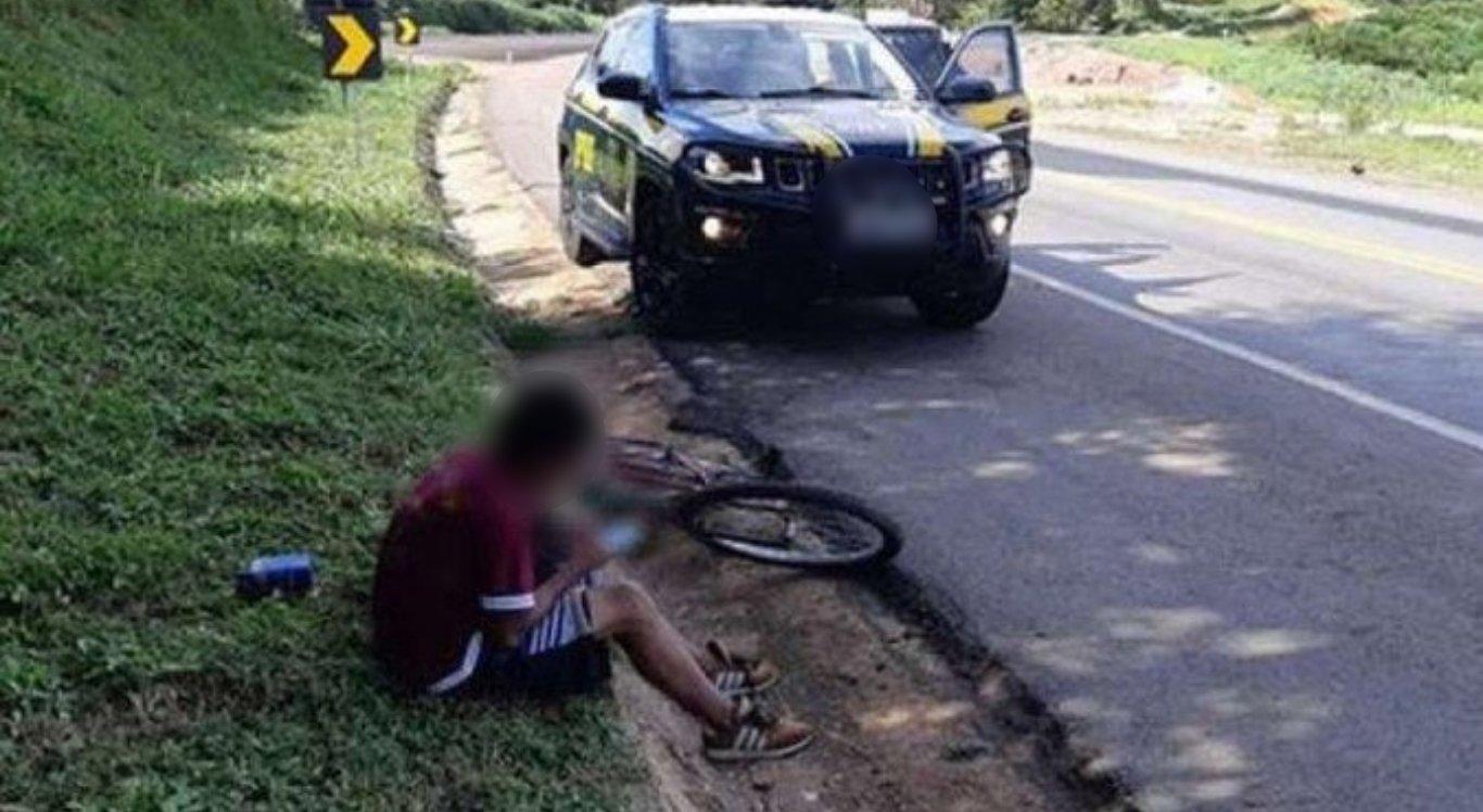 Adolescente tenta pedalar de Minas Gerais ao Maranhão para encontrar garota