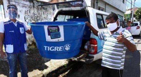 Compesa doa caixa d'água de 500 litros em campanha; saiba como conseguir
