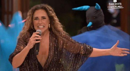 Daniela Mercury vai cantar sua nova música gravada com Gal Costa