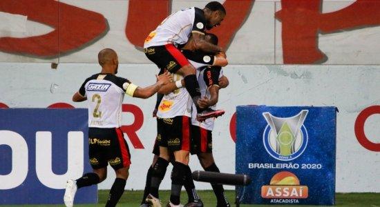 Ouça os gols da vitória do Sport diante do Internacional