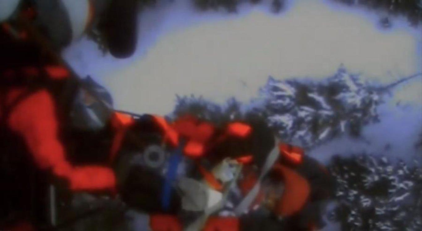 O esquiador foi resgatado após ataque de urso
