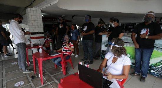 Pesquisa de boca de urna aponta Joaquim Bezerra na frente na disputa pela presidência do Santa Cruz