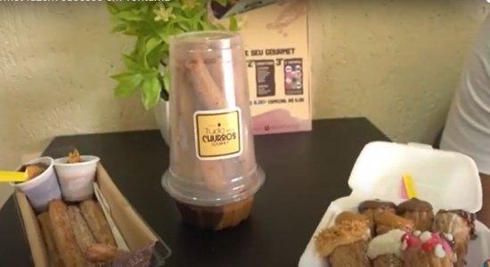 Churros gourmet faz sucesso em Toritama