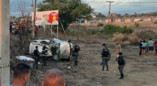 Um homem morre e outro fica ferido durante perseguição policial em Caruaru