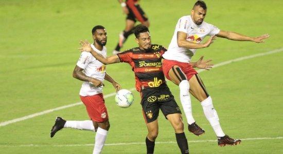 Sport empata com o Bragantino e se aproxima de permanência na Série A