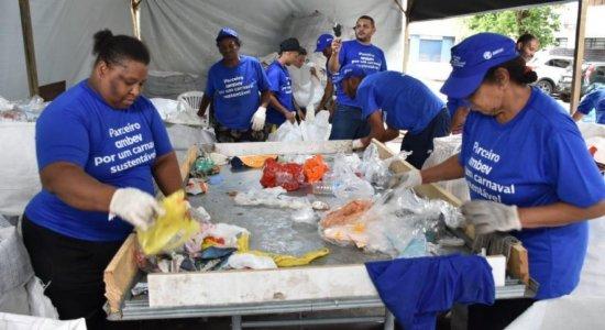 Sem Carnaval, Ambev cria auxílio financeiro para 2.800 catadores; saiba mais
