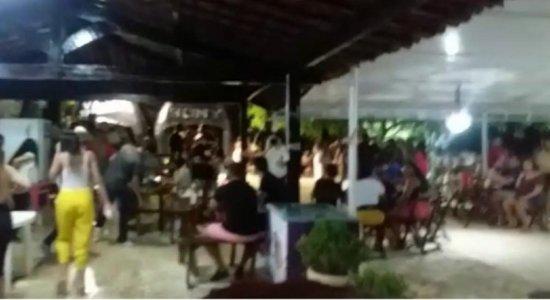 No domingo de Carnaval, grupo promoveu festa clandestina em Jaboatão; responsáveis são multados