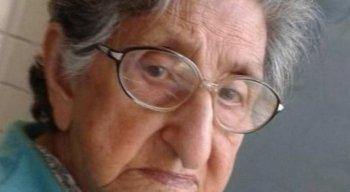 Edna Batista Cruz, de 94 anos, era conhecida como dona Edna do Cuiabá - FOTO: REPRODUÇÃO/REDES SOCIAIS
