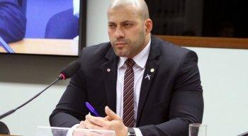 Deputado Daniel Silveira, do PSL, foi preso em flagrante