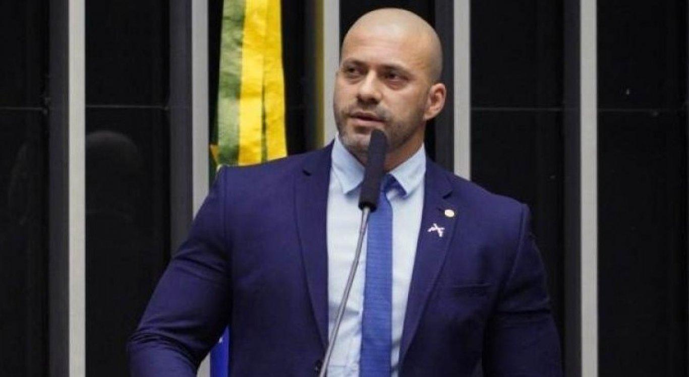 Daniel Silveira é deputado pelo PSL-RJ