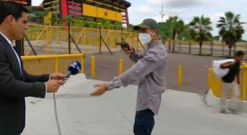 Crime ocorreu próximo do Estádio Monumental de Guayaquil, no Equador