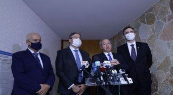 Compromisso foi acertado após reunião com ministro Paulo Guedes