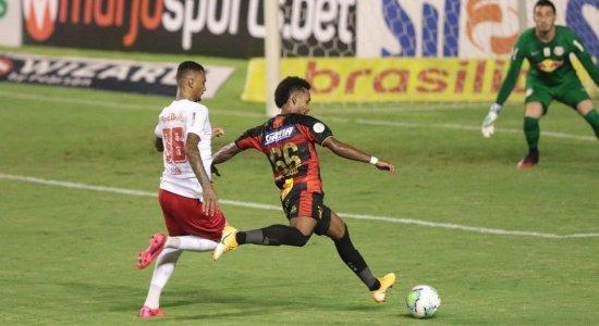 Sem lesão constatada, lateral do Sport pode ficar à disposição para enfrentar o Atlético-MG