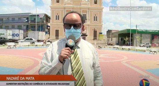 Prefeito de Nazaré da Mata fala sobre a suspensão das aulas presenciais na cidade