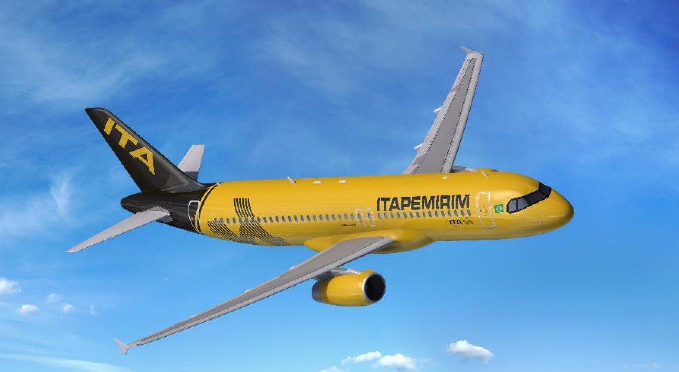 Primeira aeronave da Itapemirim chegou ao Brasil neste sábado (20)