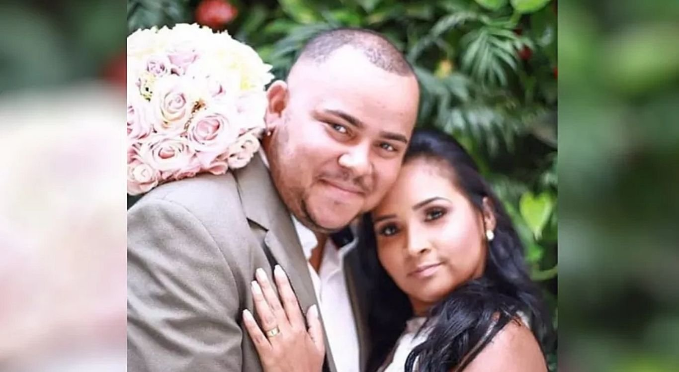 André Junio, a esposa Tammy Ferreira e o bebê deles não resistiram as complicações da Covid-19.