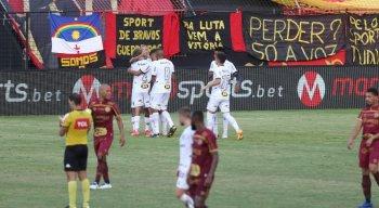 Sport acabou sendo derrotado pelo Atlético-MG, na Ilha do Retiro