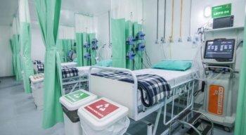 Leitos de UTI no hospital Manoel Afonso, em Caruaru