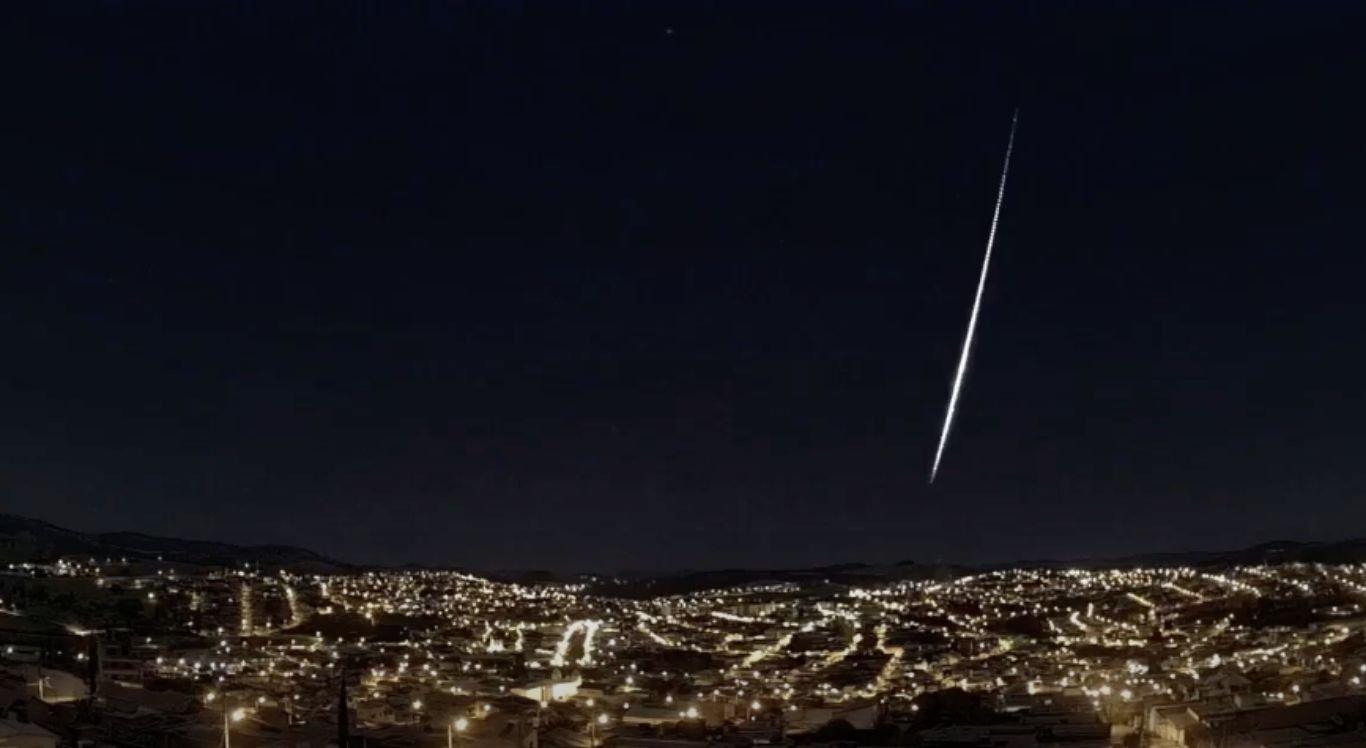 Meteoro foi visto em três estados