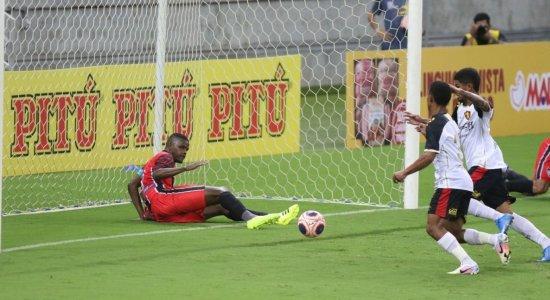Ouça os gols da vitória do Sport em cima do Vera Cruz, pelo Pernambucano