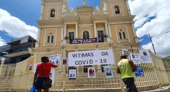 Com mais 106 óbitos, Pernambuco confirma o maior número diário de mortes por covid-19 em 2021