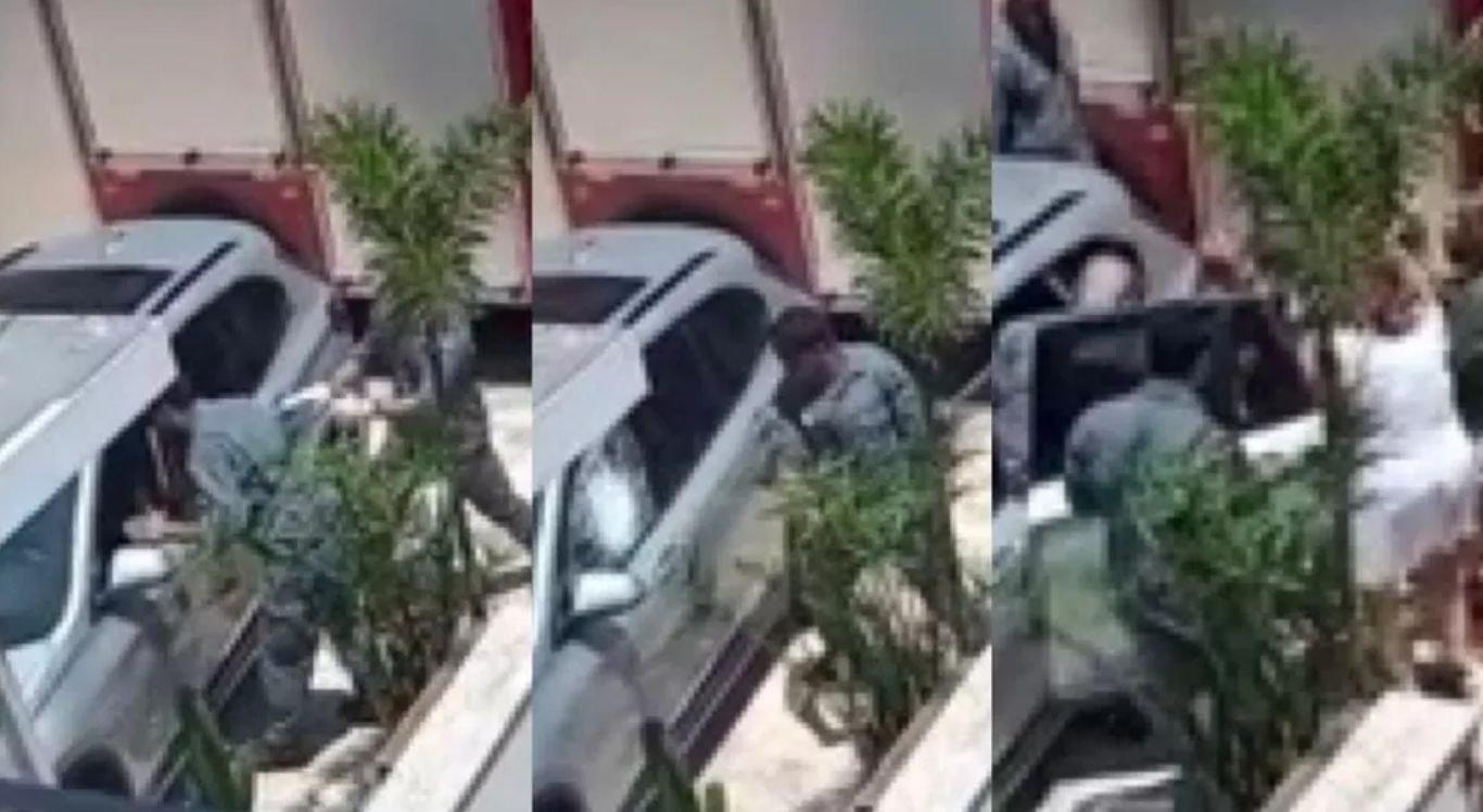Bebê foi resgatado em carro blindado