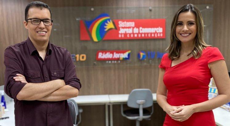 Aroldo Costa e Anne Barreto vão apresentar o Arena TV Jornal