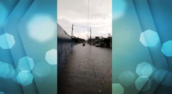 Goiana é uma das cidades mais atingidas pela chuva em Pernambuco