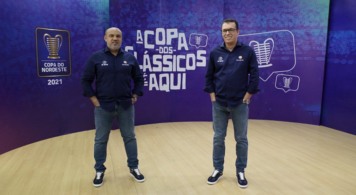 Aroldo Costa e Maciel Júnior comandam transmissão da Copa do Nordeste 2021