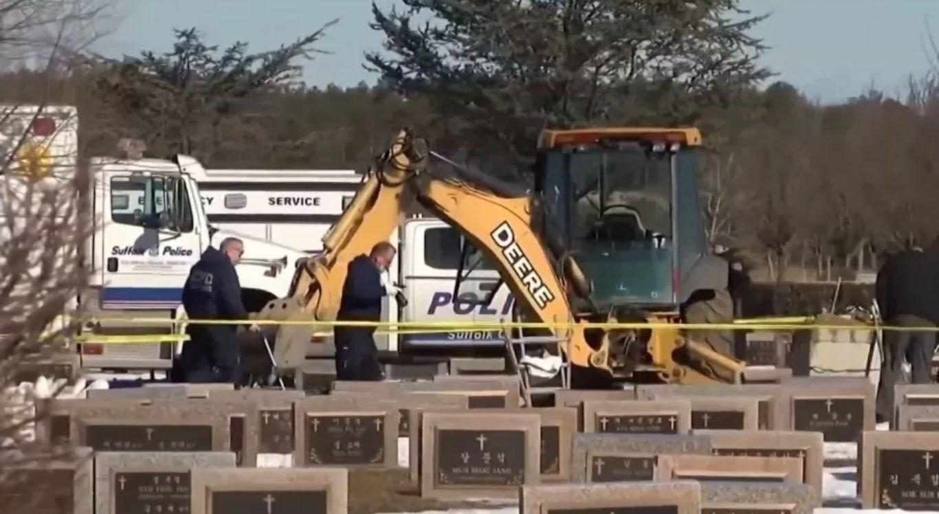 Coveiro morreu ao ser atingido por um túmulo no Washington Memorial Park, em Nova York