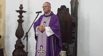 Dom Fernando Saburido testou positivo para a covid-19 no dia 15 de fevereiro