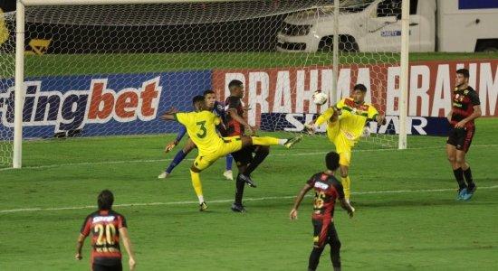 Com dois gols contra, Sport e Sampaio Corrêa ficam no empate pela Copa do Nordeste