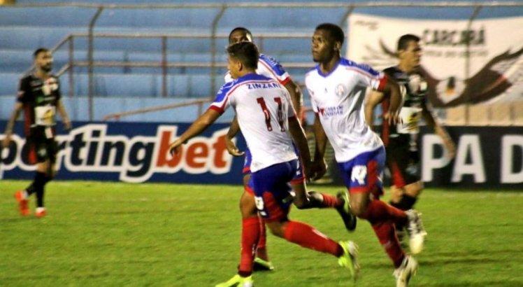 Salgueiro perde para o Bahia na estreia da Copa do Nordeste