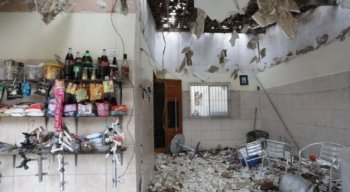 Explosão destruiu o imóvel